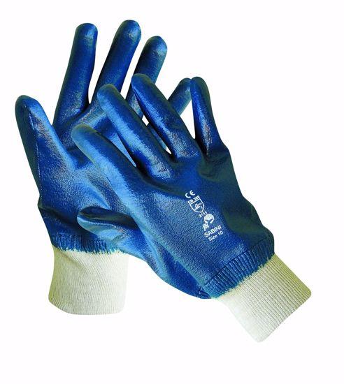 Obrázek z SABINI rukavice celomáčené v nitrilu 10