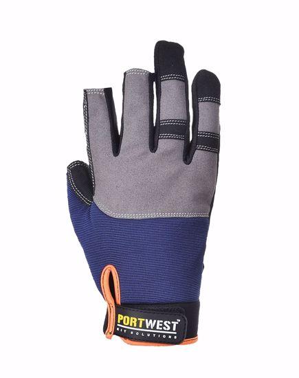 Obrázek z POWERTOOL PRO rukavice bez tří prstů