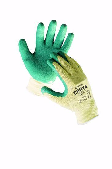 Obrázek DIPPER rukav. máč. v zeleném latexu