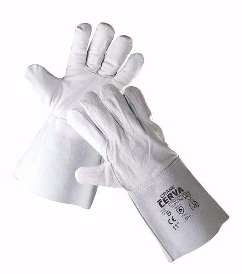 Obrázek CRANE rukavice celokožené 10