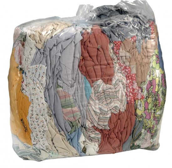 Obrázek Lisovaný textil barevný MIX 10kg BAVLNA
