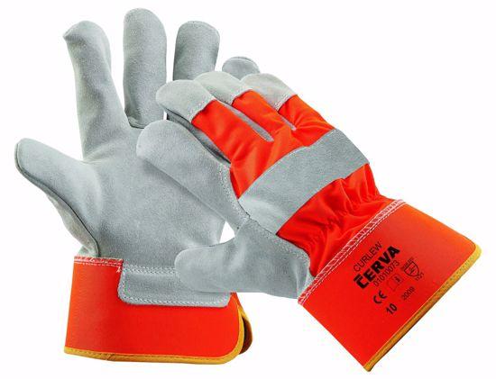 Obrázek CURLEW HiVis rukavice HV žlutá - 10