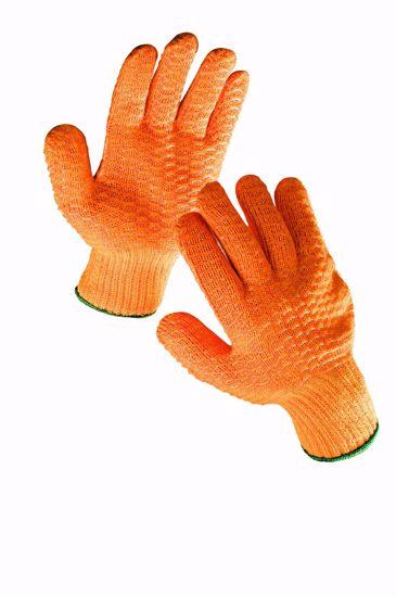 Obrázek FALCON rukavice s PVC mřížkou - 10