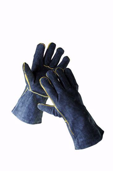 Obrázek SANDPIPER rukavice celokožené, černá 11