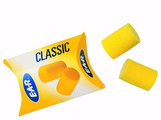 Obrázek E.A.R.Classic zátky, ze speciální PVC pěny SNR 28 dB