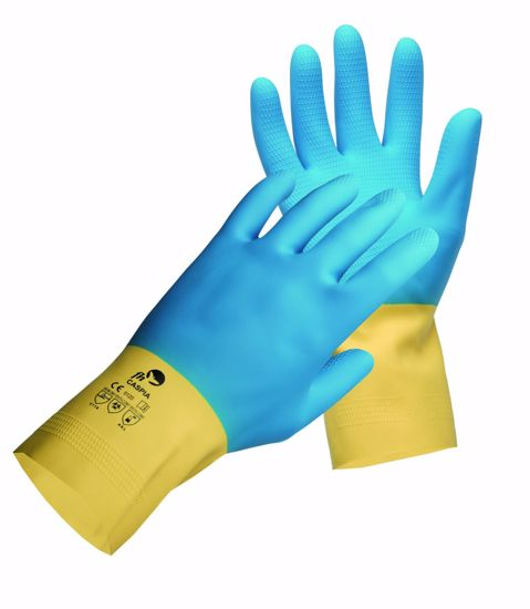 Obrázek z CASPIA FH rukavice latex/neopren