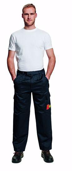Obrázek COEN kalhoty do pasu, modré