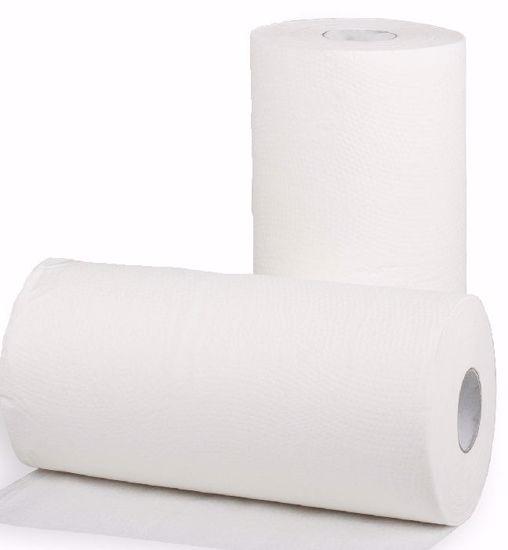 Obrázek Papírový ručník MIDI v roli, bílá 2vrstvá celulóza