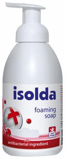 Obrázek z ISOLDA pěnové mýdlo s antibakteriální přísadou