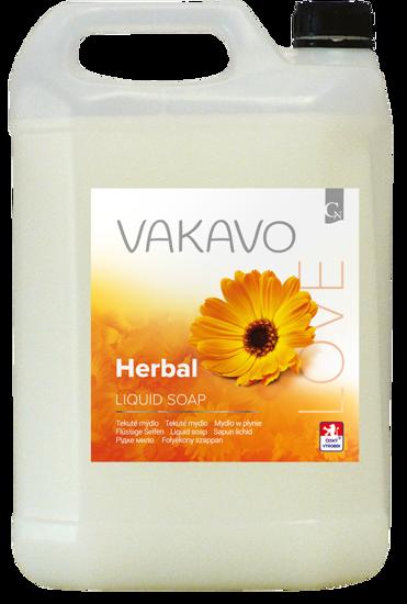 Obrázek VAKAVO Herbal tekuté mýdlo 5L