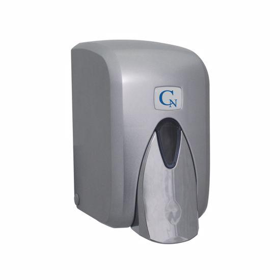 Obrázek z CN dávkovač mýdla 500ml, metallic