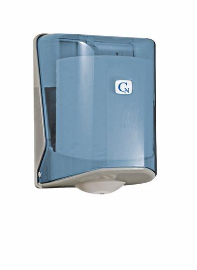 Obrázek CN zásobník ručníků s perforací v roli modrý OG2T