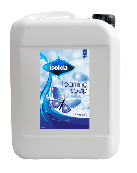 Obrázek Isolda pěnové mýdlo modré