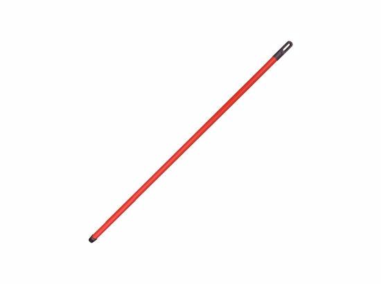 Obrázek Kovová hůl se závitem,potažená PVC 130 cm
