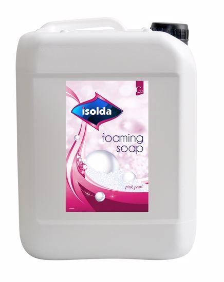 Obrázek Isolda pěnové mýdlo růžové 5L