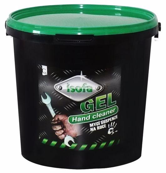 Obrázek ISOFA gel green, mycí suspenze na ruce -
