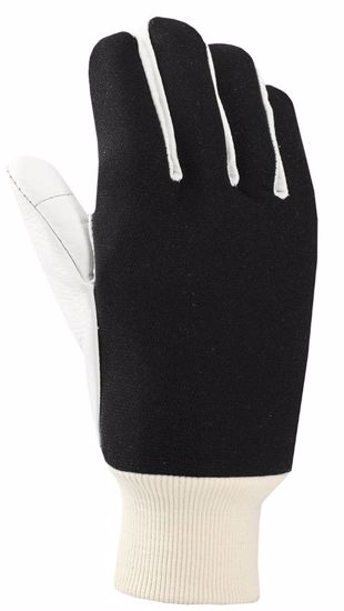 Obrázek z ANTIVIBRAČNÍ rukavice KOMBI - licovka/textil - 10