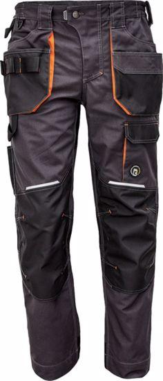 Obrázek EMERTON+ kalhoty antracit/oranžová -