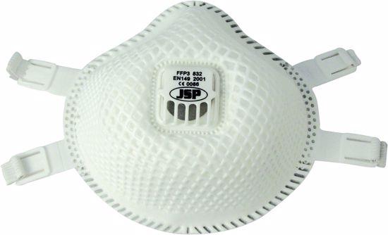 Obrázek Respirátotr JSP Flexinet FFP3 832 respirátor s ventilkem