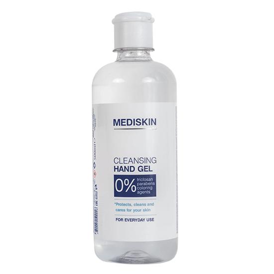 Obrázek Mediskin Čistící gel na ruce - antibakteriální 500 ml 70% alkohol